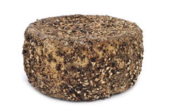 Handmade spice-coated cheese from Spain Stock Photography
