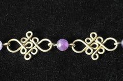Handmade Srebna biżuteria Fotografia Stock