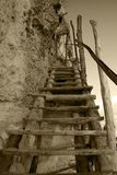 handmade stairway Стоковые Изображения
