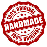 Handmade stamp royalty free illustration