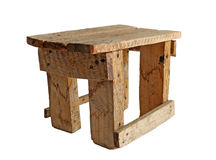 Handmade stool Stock Photography