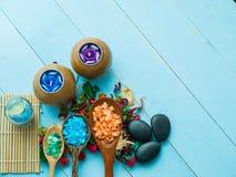 Handmade Sugar Peach Scrub With Argan Oil. Handmade Soap. Himala Stock Image