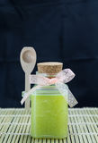 Handmade sugar scrub Royalty Free Stock Image