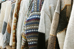 Handmade sweaters Stock Photography