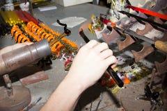 Handmade szklanego kreatywnie handwork figurek szklani narzędzia Zdjęcie Royalty Free
