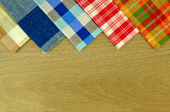 Handmade Tablecloth. Royalty Free Stock Photos