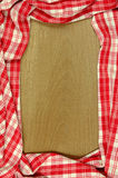 Handmade Tablecloth. Stock Image