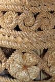 Handmade - tecelagem da palha Imagens de Stock Royalty Free