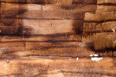 Handmade texture of paint wooden plank Royalty Free Stock Photos