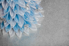 Handmade tkaniny choinka Zdjęcia Royalty Free