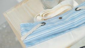 Handmade torby Pakować obrazy stock