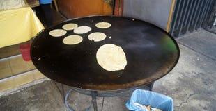 Handmade tortillas Стоковые Изображения