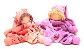 Handmade toy for  newborn Royalty Free Stock Photography