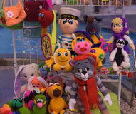 Handmade toys Stock Photo