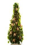 Handmade toys on New Year tree Stock Photo
