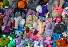 Handmade toys Stock Image