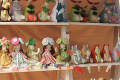 Handmade toys Royalty Free Stock Image