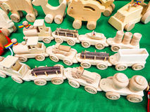 Handmade toys Royalty Free Stock Images