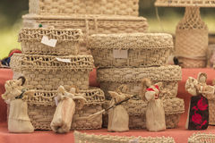Handmade traditional objects Royalty Free Stock Photography