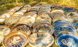 Handmade traditional pots Stock Photo