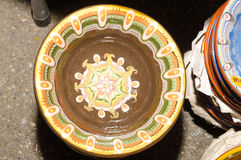 Handmade traditional pots Stock Image