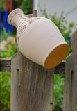 Handmade traditional pots Stock Photography