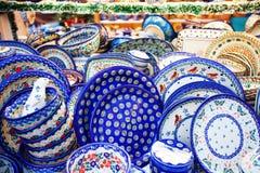 Handmade Traditional Pottery Royalty Free Stock Photography