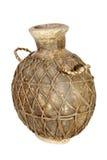 Handmade Tradycyjny afrykanin wody garnek z Netto nakryciem Zdjęcia Stock