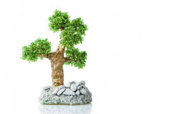 Handmade tree Royalty Free Stock Images