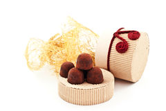 Handmade truffles Stock Photography