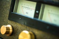 Handmade tube amplifier Stock Images
