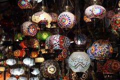 Handmade Turkish lanterns Stock Images