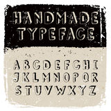 Handmade typeface Stock Images
