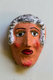 Handmade typical mask from Nicaragua Stock Photos