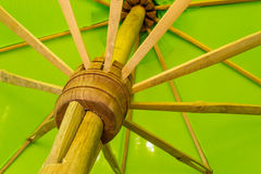 Handmade umbrella Royalty Free Stock Images
