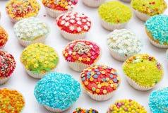 Handmade, uroczy muffins, Obrazy Royalty Free