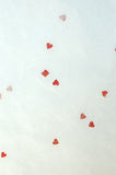 Handmade Valentine Paper Background Royalty Free Stock Images