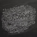 Handmade Vector hand lettering Royalty Free Stock Image