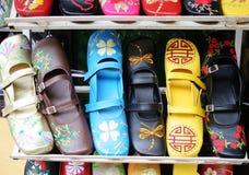 Handmade Vietnamese shoes Royalty Free Stock Photography
