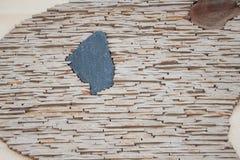 Handmade wall bricks. Stock Images