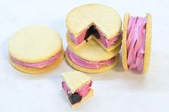 Handmade whoopie pie Royalty Free Stock Photos