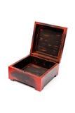 Handmade wooden box Royalty Free Stock Photography