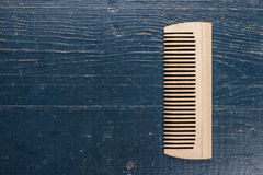 Handmade wooden comb Royalty Free Stock Photos