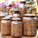 Handmade Wooden Pot royalty free stock photography
