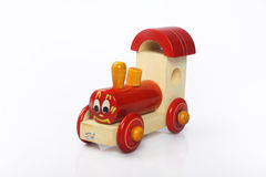 Handmade Wooden Train Royalty Free Stock Image