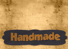 Handmade word Royalty Free Stock Images
