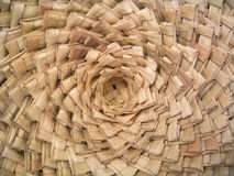 Handmade Woven Baskets. Closeup of handmade woven baskets Royalty Free Stock Photos