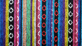 Free Handmade Woven Cotton Fabrics. Royalty Free Stock Image - 65005826