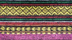 Handmade woven cotton fabrics. Royalty Free Stock Photos
