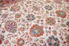 Handmade woven rug Stock Images